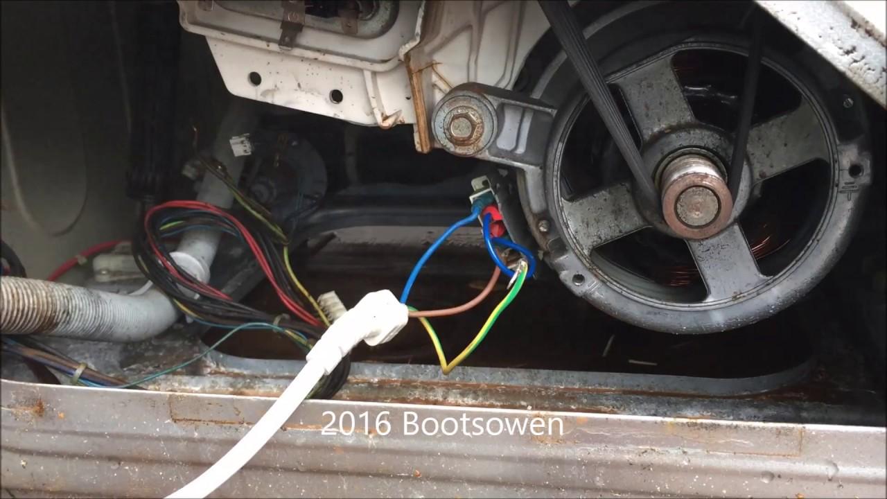 Hotwiring A Washing Machine Motor Hotpoint Aquarious Wml540