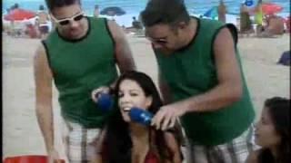 Pânico Na TV 08/08/2010   Vesgo e Bola Procurando Antonio Nunes nas Praias