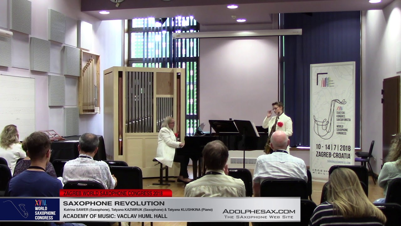 Suite Hellenique by Pedro Iturralde   Saxophone Revolution   XVIII World Sax Congress 2018 #adolphes
