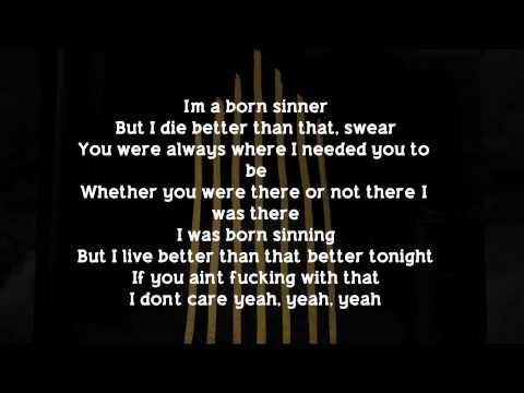 J. Cole - Born Sinner (Lyrics) (feat. James Fauntleroy)