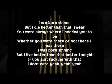 J. Cole - Born Sinner (Lyrics) (feat. James Fauntleroy)
