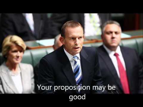 Tony Abbott: I'm Against It!