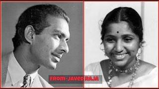 TALAT & ASHA-Film-SHAH BEHRAM-1955-Pathar Dil Hogaya Duniya Ka-[ Great Duet ]