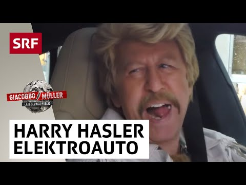 Harry Hasler testet ein Elektroauto – Giacobbo  Müller