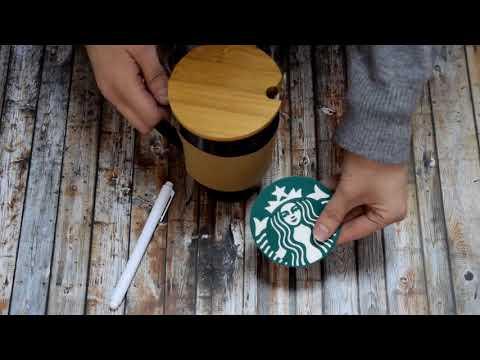 Керамическая чашка Starbucks Memo с маркером, 1007250