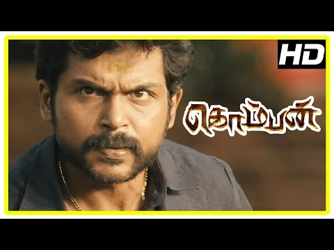 Komban Tamil Movie | Back to Back Full Fight Scenes | Karthi | Lakshmi Menon | Rajkiran | IM Vijayan