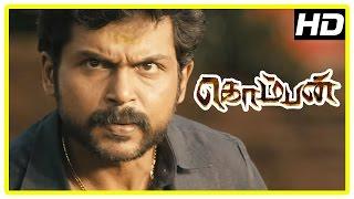 vuclip Komban Tamil Movie | Back to Back Full Fight Scenes | Karthi | Lakshmi Menon | Rajkiran | IM Vijayan