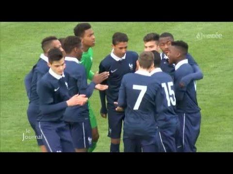 Mondial Football Montaigu : La France en finale (Vendée) - YouTube