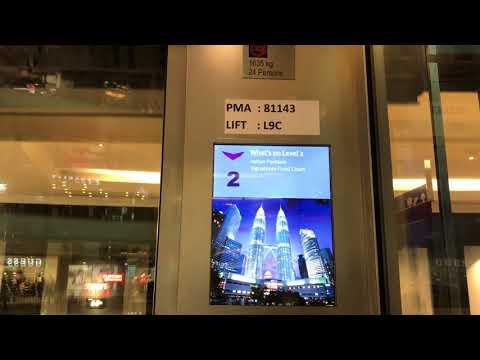 Brand New Schindler 5000 Scenic Elevator at Suria KLCC, Kuala Lumpur