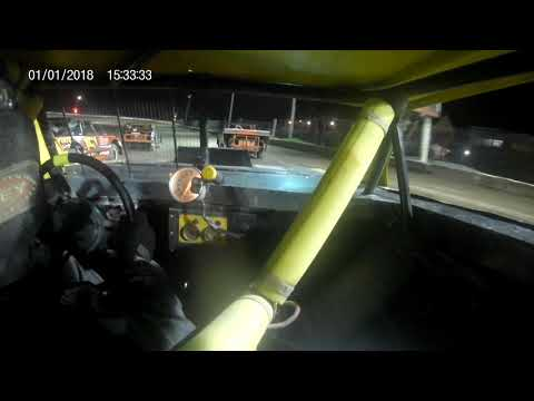 In car street stock 01. - dirt track racing video image