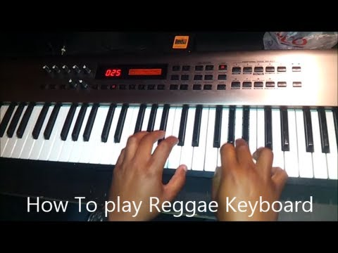 How to play reggae keyboard
