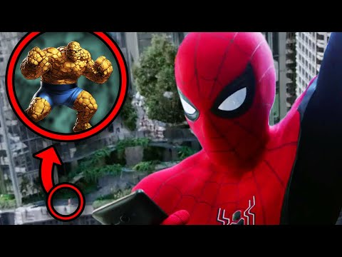 SpiderMan Far From Home Breakdown! NEW Easter Eggs You Missed! | Infinity Saga Rewatch