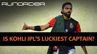 Runorder: Is Virat Kohli lucky to continue as RCB's captain?