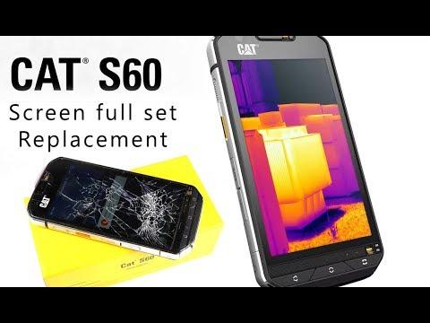 tani słodkie tanie wielka wyprzedaż CAT S60 Screen & Glass Full set Replacement / mostra la sostituzione