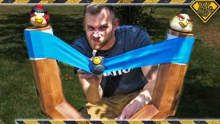 Making a GIANT Bird-Launching Slingshot