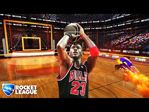 NEW Rocket League HOOPS - NBA Style Slam Jam :D