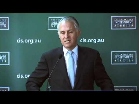 Malcolm Turnbull discusses the NBN at CIS