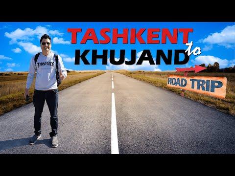 Tashkent-Uzbekistan to Khujand-Tajikistan By Road Trip (Border Crossing)