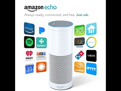 Amazon Echo Plays all your music from Amazon Music