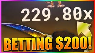 csgo betting winning insane profit massive multiplier csgo gambling win ez profit