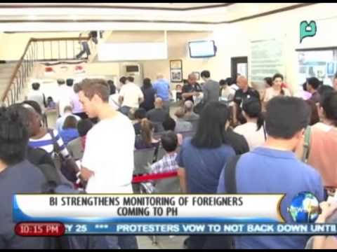 NewsLife: BI strengthens monitoring of foreigners coming to PH || Jan. 14, '14