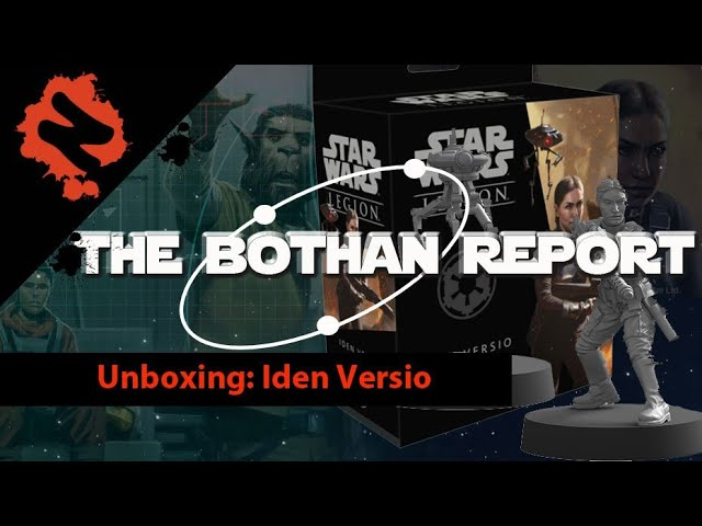 Nessie Knows  Star Wars Legion: Unboxing  Iden Versio and ID10