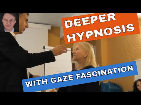 DEEPER HYPNOSIS with Gaze Fascination and Magnetic Subliminal Touches