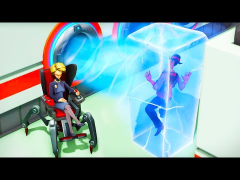 I Built an Evil Lair and Froze Spys with a Freeze Ray in Evil Genius 2! (Sponsored) |