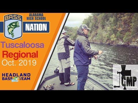 Lake Tuscaloosa - BASS 2019 Regional - 1st Place Finish For Headland Bass Team
