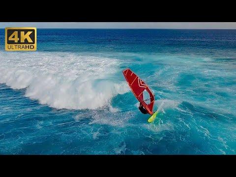 Fiji Surfing & Windsurfing Trip ~ (4K HD)