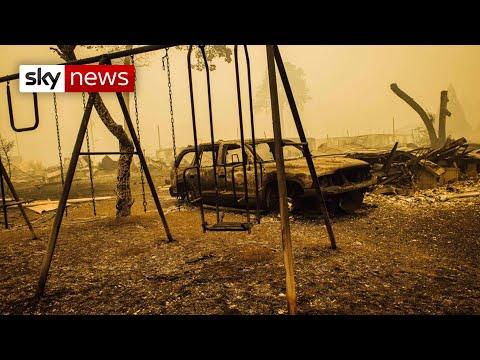 Dozens missing as wildfires ravage Oregon