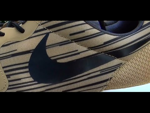 82a8d758e798 Nike  Metallic Gold  Roshe Run Hyperfuse - Review + On Feet - YouTube