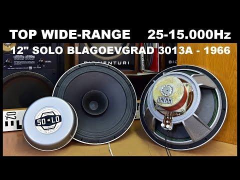 The Best TOP High End Vintage Full Range Speakers SOLO BLAGOEVGRAD - Breitband Lautsprecher