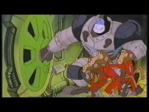 Introduction of Captain Simian and the Space Monkey Cartoon Show