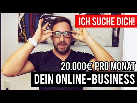 20.000€ pro Monat - ICH SUCHE DICH! (Eigenes Online-Business)