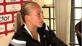 Johanna Larsson utslagen