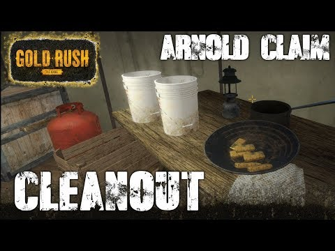 FRIDAY NIGHT CLEANOUT LIVE ! | THE ARNOLD CLAIM | GOLD RUSH: THE GAME