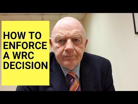 How to Enforce a WRC Decision