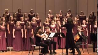 Gloria, III. Laudamus Te, Vivaldi, FCHS Canta Bella Choir, October 4, 2011