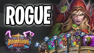 ROGUE Card REVIEW | The Boomsday Project | Hearthstone