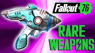 Fallout 76 Top 10 RARE Weapons
