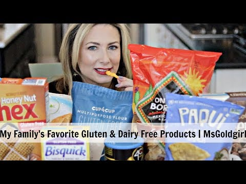Our Favorite Gluten-Free And Dairy-Free Foods | MsGoldgirl