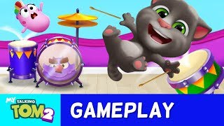 🥁Learn Drumming in My Talking Tom 2🥁