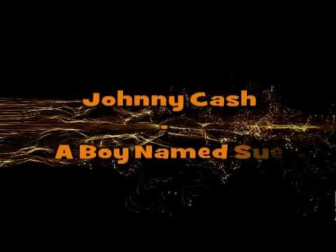 Johnny Cash - A Boy Named Sue (Lyrics) EXPLICT
