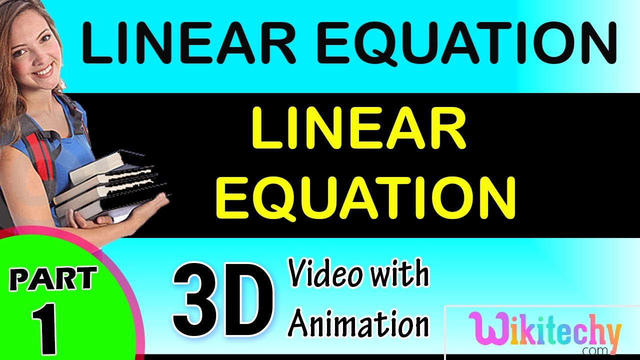 LINEAR EQUATION maths class 8,9,10,11,12 trick shortcuts online ...