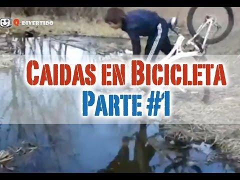 Chistosas Caidas en Video Caida Chistosa en Bici