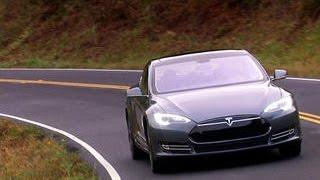 On the road: Tesla Model S P85+