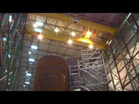 WeserWind GmbH - Serienfertigung von Offshore-Gründungsstrukturen