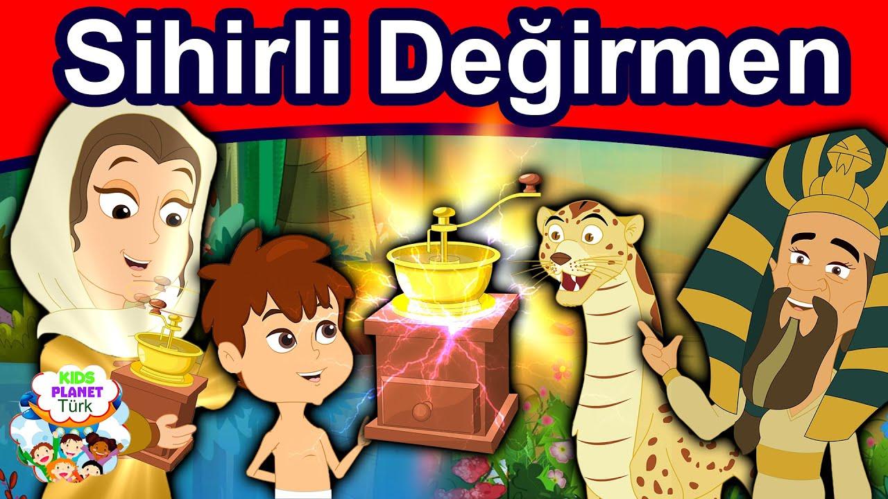 Sihirli Değirmen | Peri masallari | Masal Dinle | Masallar | Türkçe çocuk masalları izle 2020