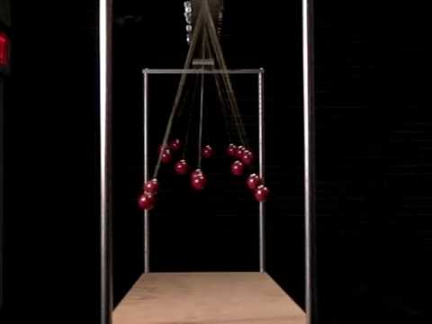 Pendulum Waves Slow Motion